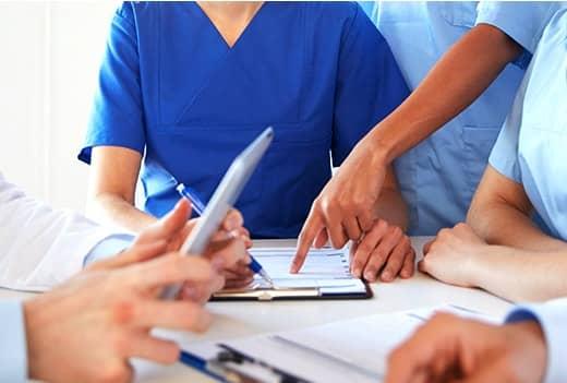 他分野のプロによる専門性の高いチーム医療