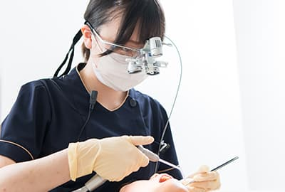 特徴06 長期的に歯の健康を守る予防体制