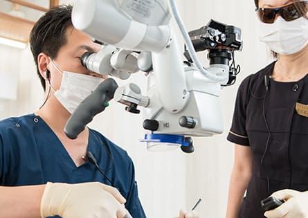 「難症例」の外科的処置にも対応します(歯根端切除術)